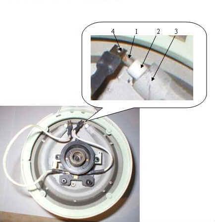 Как заменить закрытую спираль центральный контакт на чайнике